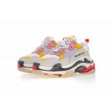 Balenciaga Triple-S Sneaker - White/Yellow/Pink