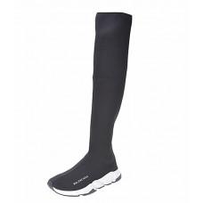 Balenciaga Speed stretch-knit HIGH - Black/White