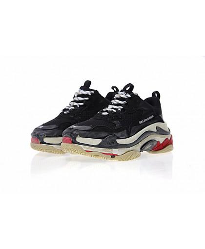 Balenciaga Triple-S Sneaker - Black/Red