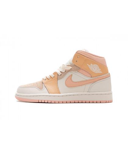 Nike Air Jordan 1 Mid - Pink/Orange