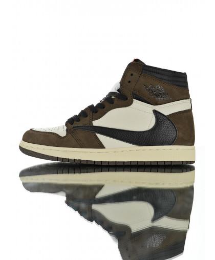 Air Jordan 1 High OG Mocha - White/Brown