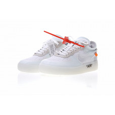 Off White x Nike Air Force 1- White