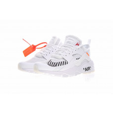Off White x Nike Air Huarache Ultra - White
