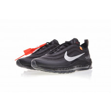 Off white x Nike Air Max 97 - Black/Silver/Orange