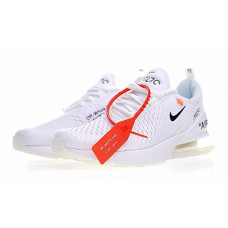 Off White x Nike Air Max 270 - White