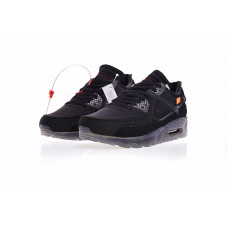 Off White x Nike Air Max 90 - Black