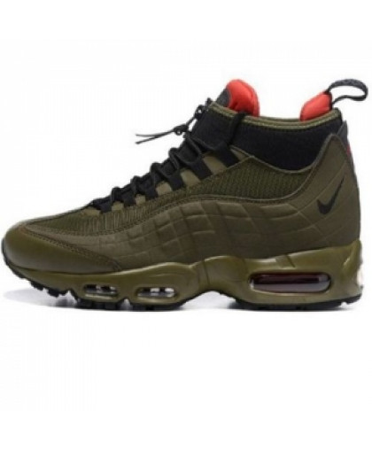 Мужские Nike Air Max 95 SneakerBoot Olive