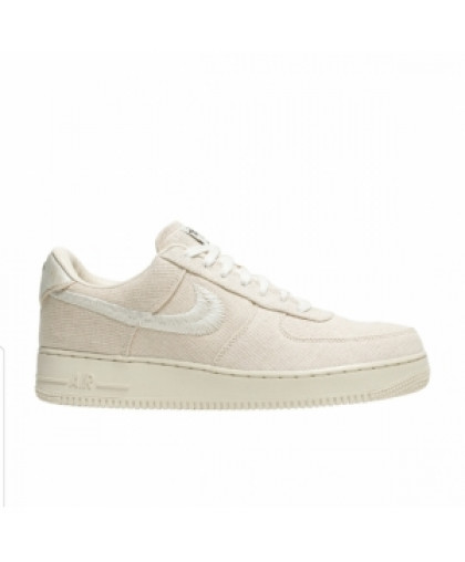 Nike Stussy x Air Force 1 Low Fossil