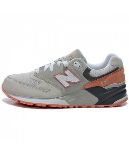 Женские New Balance 999 Grey/Brown