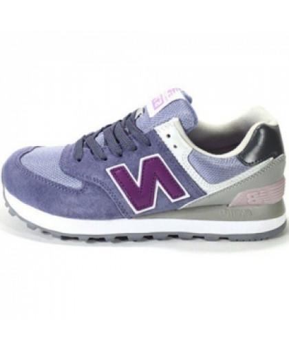 Женские New Balance 574 Purple