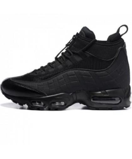 Мужские Nike Air Max 95 SneakerBoot Mid Black