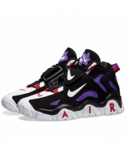 унисекс Nike Air Barrage Mid чёрные  Фиолетовый