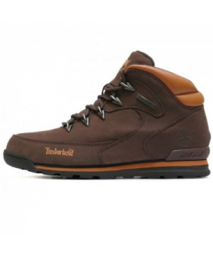 Мужские Timberland Euro Sprint Hiker Hiking Dark Brown With Fur