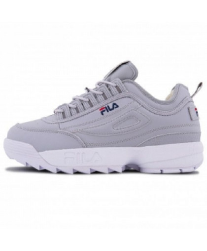 Зимние Fila Disruptor 2 Grey With Fur