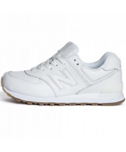 Женские New Balance 574 All White