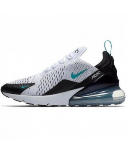 "Унисекс Nike Air Max 270 ""Teal"" Black/White"