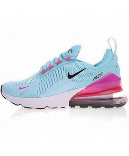 Женские Nike Air Max 270 Blue/Pink/Black/White