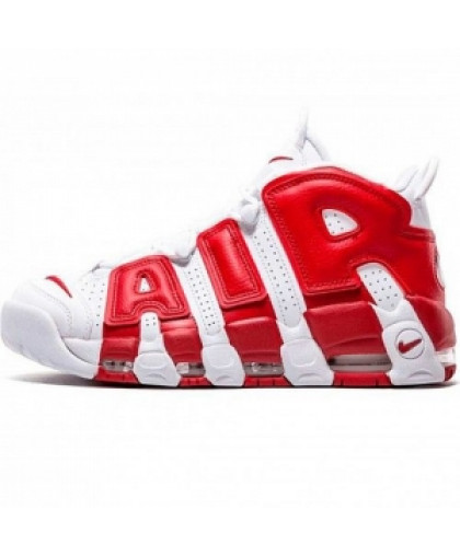 Мужские Nike Air More Uptempo Red/White