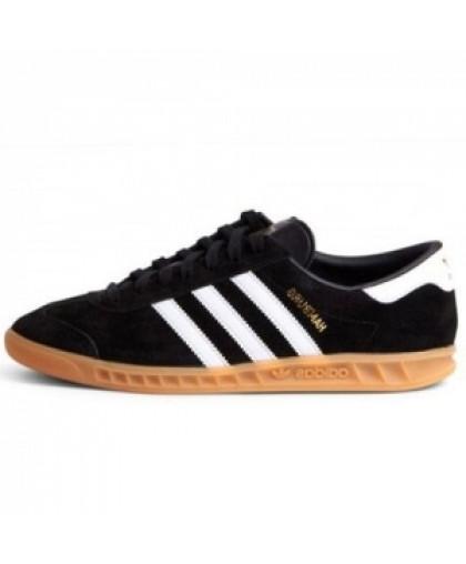 Унисекс Adidas Originals Hamburg Core Black/White/Gum