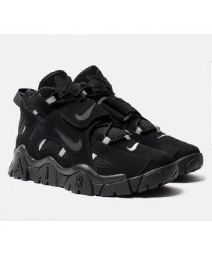 унисекс Nike Air Barrage Mid чёрные