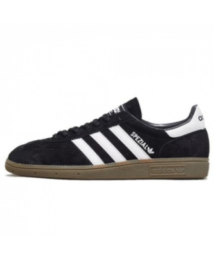 Мужские Adidas Spezial Dark Black/White