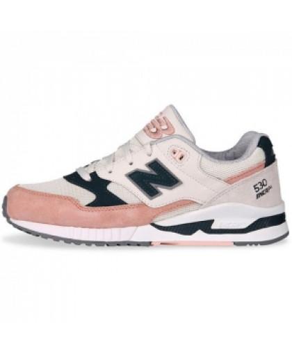 Женские New Balance 530 White/Light Pink