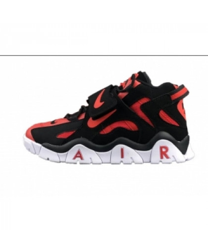 унисекс Nike Air Barrage Mid чёрные красный
